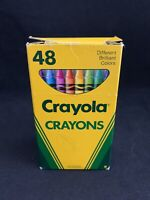 Vintage 1990 Crayola Crayons (48) by Binney & Smith