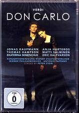 2.DVD VERDI DON CARLO Jonas Kaufmann Anja Harteros Hampson Salminen PAPPANO 2013