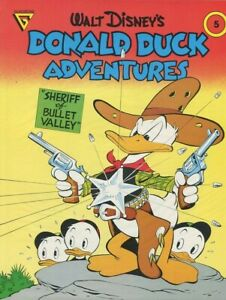 Gladstone Walt Disney's Donald Duck Adventures: Sheriff Of Bullet Valley #5 NEW