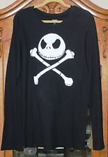 Nightmare Before Christmas Jack Skellington Long Sleeve Shirt XXL - Disney