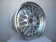 SINGLE 18x9.5 LM Style WHEEL For Audi A4 VW Mercedes E Class 38mm