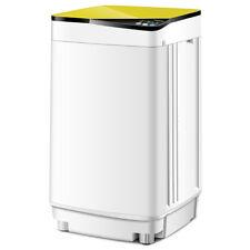 Full-Automatic Washing Machine 7.7 lbs Washer/Spinner Germicidal UV Light Yellow