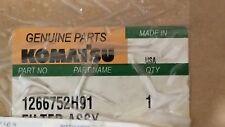 AUTHENTIC KOMATSU HYDRAULIC FILTER ASSY 1266752H91 NEW IN BOX