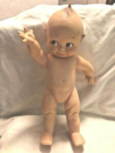 "Vintage 12"" Kewpie by Cameo Rubber Doll - Working Squeaker!"