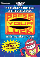 Press Your Luck - Interactive DVD Game (DVD, 2007)