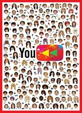 Youtubers Poster Special Youtube Rewind 2017 edition Vloggers Large A1 Xmas Gift
