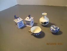 Collection Of Porcelain - Vase, Cup, Trinket Box, Salt & Pepper Shakers