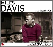 MILES DAVIS SKETCHES OF SPAIN ~ 15 ORIGINAL JAZZ RECORDINGS REMASTERED NEW CD