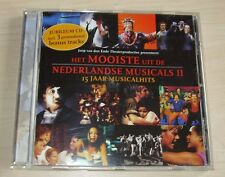 v/a HET MOOISTE UIT DE NEDERLANDSE MUSICALS II CD 2004 Dutch Chicago Rent Joe