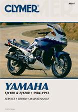 Clymer Repair Service Shop Manual Vintage Yamaha FJ1100 84,85 FJ1200 86,87,88-93