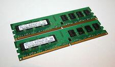 2GB (2x1GB) DDR2 PC (Desktop) RAM Samsung PC2-5300U 667MHz