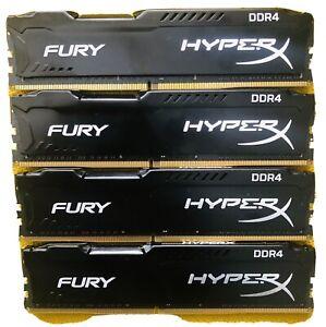 Kingston HyperX Fury 32GB (8GB x 4) DDR4 PC4-21300 2666MHz DIMM Desktop RAM
