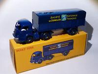 Camion Panhard + semi-remorque SNCF - ref 32 AB / 32AB de dinky toys atlas