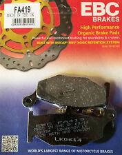 EBC/FA419 Brake Pads (Rear) - Suzuki GSR600, GSXR600/750/1000, V-Strom, Hayabusa