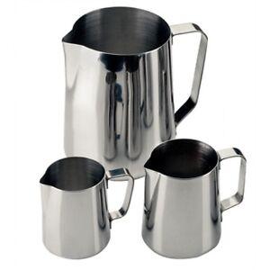 Milk Or Water Jug 160X100mm 1365ml /48oz Stainless Steel Mug Cup Creamer Pitcher