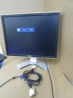 "Dell UltraSharp 20.1"" LCD 2007FP Monitor w/ stand & cables"