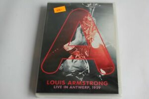 DVD Louis ARMSTRONG live in ANTWERP 1959 Jazz (49902)