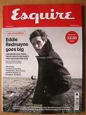 Esquire December 2016 Eddie Redmayne Tom Ford Lea Seydoux Ricky Gervais Oyelowo