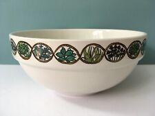 More details for vintage taunton vale large mixing bowl ~ bouquet garni design