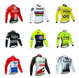 Men's Cycling Jersey Long Sleeve Breathable Bike Bicycle Racing Shirt