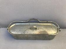 Ancienne poissonnière acier vintage Manufrance déco cuisine vintage