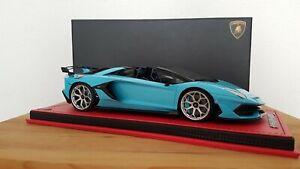 MR Collection 1:18 Lamborghini Aventador SVJ Roadster LAMBO039AB
