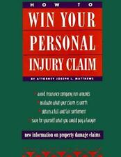 How to Win Your Personal Injury Claim (2nd ed)-ExLibrary