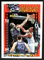 SHAQUILLE O'NEAL - 1992-1993 Topps 1992-1993 Highlights Orlando Magic SHAQ #3