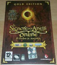 PC gioco Il Signore degli Anelli Online Le Ombre di Angmar gold edition italiano