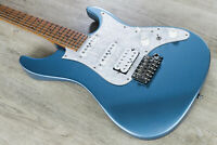 Ibanez AZ2204 Prestige HSS Electric Guitar Roasted Maple Board Ice Blue Metallic