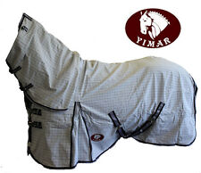 "Yimar 3'6"" Summer Ripstop Cotton Horse Rug Combo"