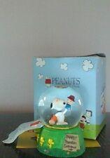 "Peanuts Snoopy ""Pawpet Show"" Westland Mini Water Globe With Box"