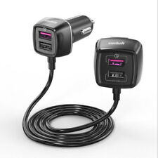 12-24V One for Four Universal QC3.0 Fast Charging Car Charger 4USB Universal 1PC