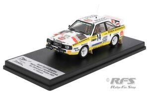 Audi Sport Quattro Steiermark Rallye Rally 1985 Mayer Gottlieb 1:43 Trofeu BOSCH