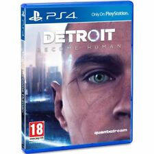Detroit Become Human - PS4 IMPORT neuf sous blister