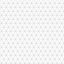 10 x ISOMETRIC PAPER A2 size Metric 5mm triangles premium paper