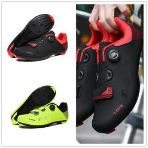 Road Cycling Shoes Mens Bicycle Sneakers Professional Pedals Spin SPD-SL Cleats