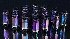 BLACKWORKS BWR STEEL SERIES LUG NUT SET OF 20 12X1.25 NEO-CHROME BWAC-L090NEO