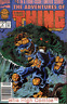 ADVENTURES OF THE THING (1992 Series) #4 NEWSSTAND Fine Comics Book