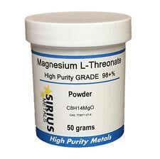 Magnesium L-Threonate powder 50g 98% Purity
