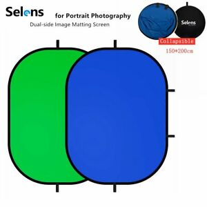 Selens Photography Pop Up Green Screen Backdrop Collapsible Background for Props