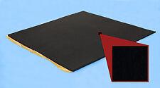 Filz, Akustikfilz, 3,5 mm, 100 x 50 cm, selbstklebender Filz, schwarz, Klebefilz