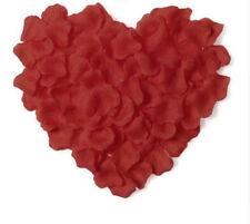 1000x Rosenblätter  Blütenblätter Hochzeit Valentinstag Tischdeko rot Basteln