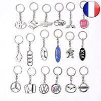 Porte-clés Voiture Styling Accessoires Marque Auto Acier Inoxydable Logo 3D