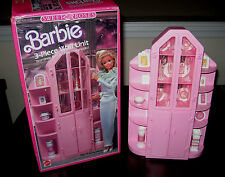 IN BOX Mattel Barbie Sweet Roses 3-Piece Wall Unit #4772 - dated 1987