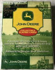 John Deere Playing Cards New Sealed Advertising Tractors Collectible Deck