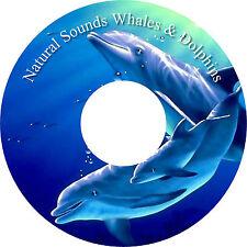 Healing Naturale Sounds Balene & Delfini CD Relaxation Aiuta Il Sonno Antistress