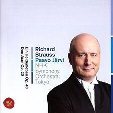 EIN HELDENLEBEN & DON JUAN - JÄRVI,PAAVO/NHK SYMPHONY ORCHESTRA TOKYO/+ CD NEU