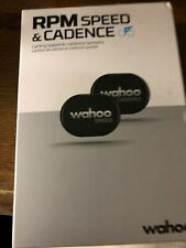 NEW WAHOO RPM SPEED AND CADENCE SENSORS BUNDLE
