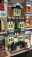 LEGO CUSTOM MODULAR BUILDING LIME GREEN TOWN HOUSE Like 10190 city train display